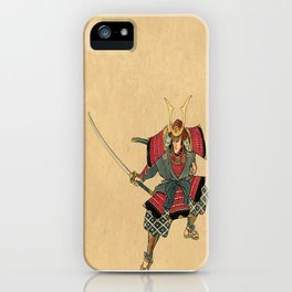 Honorable Warrior iPhone Case