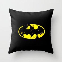 bat man logo Throw Pillow