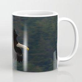 Soaring Alaskan Eagle Coffee Mug