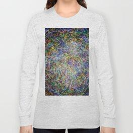 Ball of String Light painting Long Sleeve T-shirt