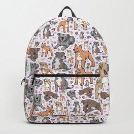 Cute Pitbulls Backpack
