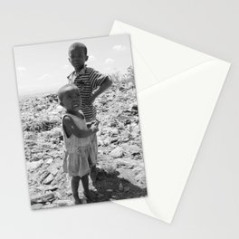Garbage Slum Stationery Cards