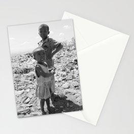 Garbage Slum Stationery Cards