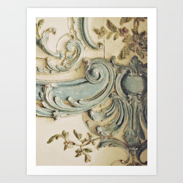 Blue Lace of Versailles Kunstdrucke