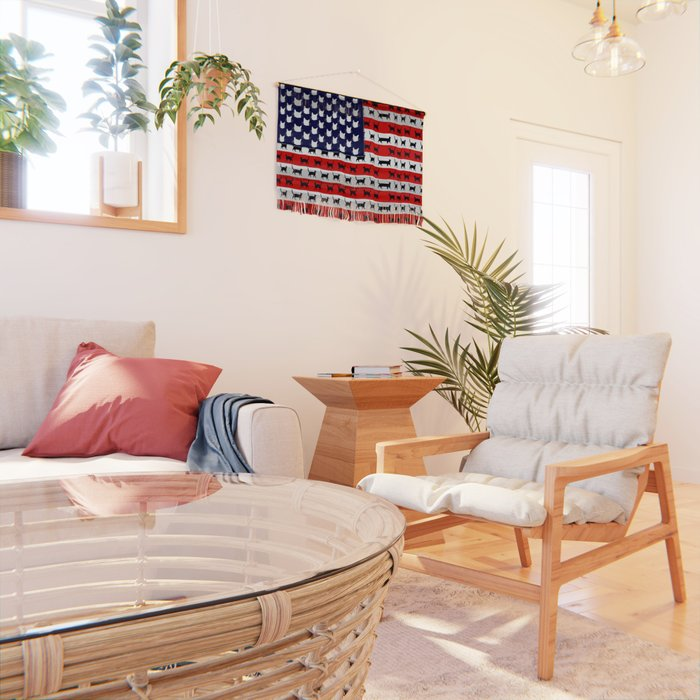 Cat Flag Wall Hanging