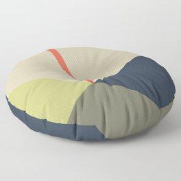 bandana    camou & coral Floor Pillow