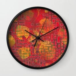 Building/Breaking Wall Clock