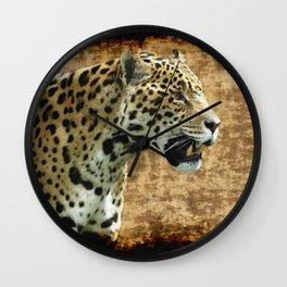 Wild Jaguar Wall Clock