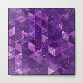 Abstract Geometric Background #35 Metal Print