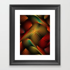 Bed of Snakes Framed Art Print