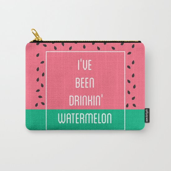 Beyonce Said It Best Carry-All Pouch