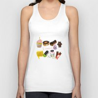 android Tank Tops featuring android  by leonov andrew