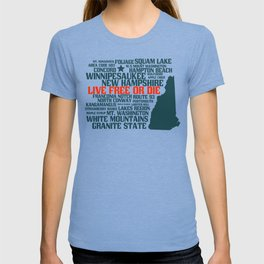 New Hampshire Live Free or Die T-shirt