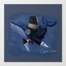 Humphrey Grumpus the 23rd  Canvas Print