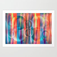 bubblegum Art Prints featuring Bubblegum by Christine baessler