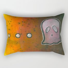 dot dot dot GHOST! Rectangular Pillow