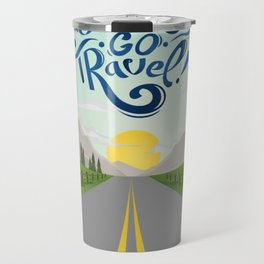 Let's Go Travel Travel Mug