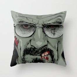 The Walking Bad Throw Pillow