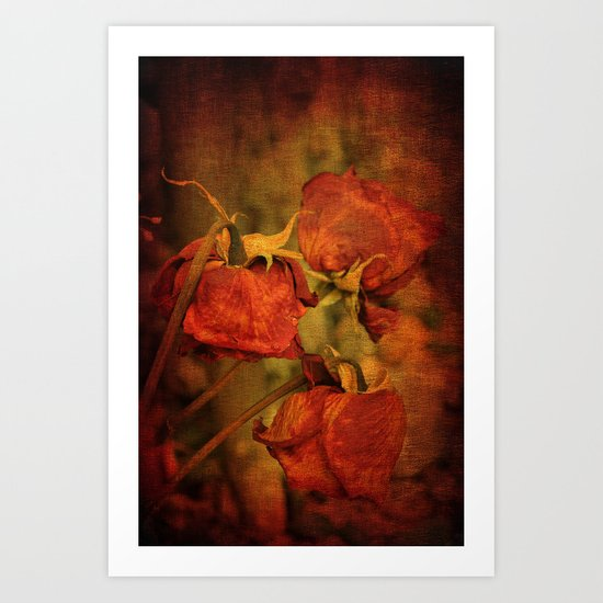 Three Roses Art Print