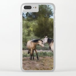 The Duns Clear iPhone Case