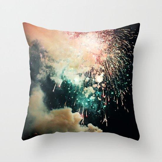 Bursts of light. Throw Pillow