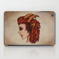 capricorn iPad Cases featuring Capricorn by redrockit