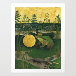 The Frog Prince Art Print