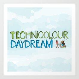 Technicolour Daydream Art Print