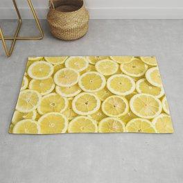 Lemon pattern #society6 #decor #buyart Rug
