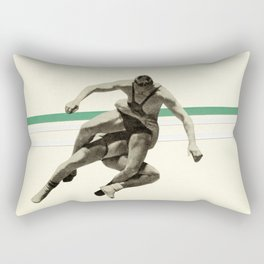 The Wrestler Rectangular Pillow