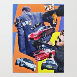 Big Boys Need Toys Poster