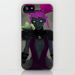 Wenchica iPhone Case