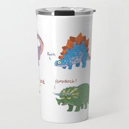 Potty Mouth Dinos Group Travel Mug