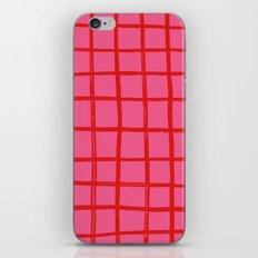 Warm Grid iPhone & iPod Skin