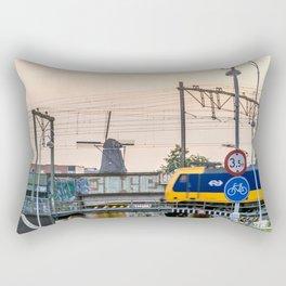 Sunrise Commute Rectangular Pillow