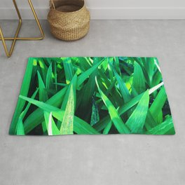 Luxurious Long Blades Of Exquisite Grass Rug