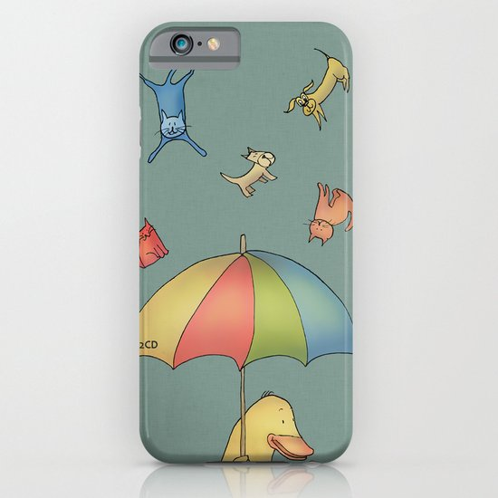 It's raining cats and dogs iPhone & iPod Case