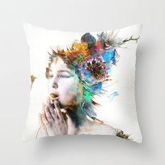Gratitude Flow Throw Pillow