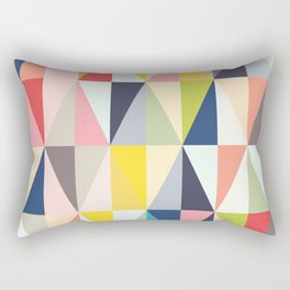 Abstract Geo Diamonds Rectangular Pillow