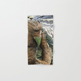 The Earth Golem Hand & Bath Towel