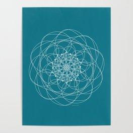 Ornament – Morphing Blossom Poster