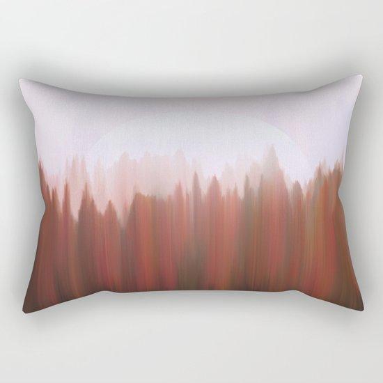 Forest Moon Rectangular Pillow