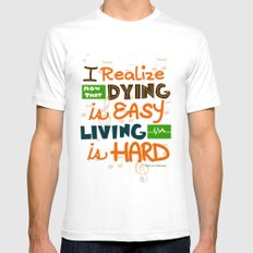 IF I STAY: I Realise Mens Fitted Tee White SMALL