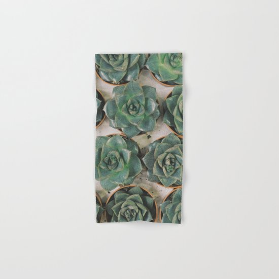 Succulent Collection Hand & Bath Towel