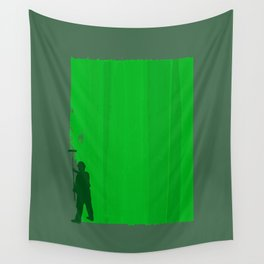Paint Your Life Green Wall Tapestry
