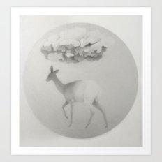 Cervidae II Art Print