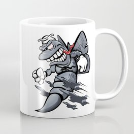 F/A-18 Hornet / Super Hornet Fighter Attack Military Jet Cartoon Coffee Mug