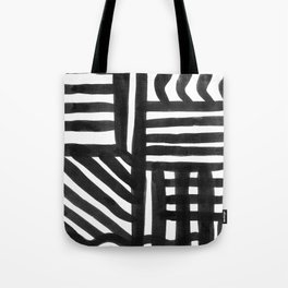 Ink Pattern Tote Bag