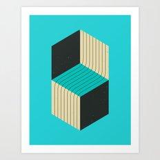 CUBES (7) Art Print