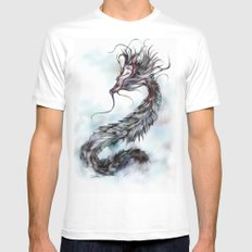 cool sketch 144 White Mens Fitted Tee MEDIUM